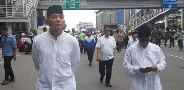 Sjafrie Sjamsoeddin: Teruslah Berjuang Jika Hak Rakyat Dizalimi!