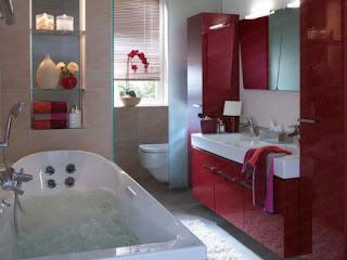 ديكورات حمامات ضيوف شركة ارابيسك