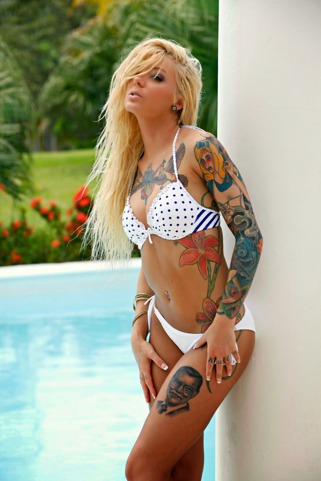Taylor brynne sexy tattoo models for Hot tattoos for females