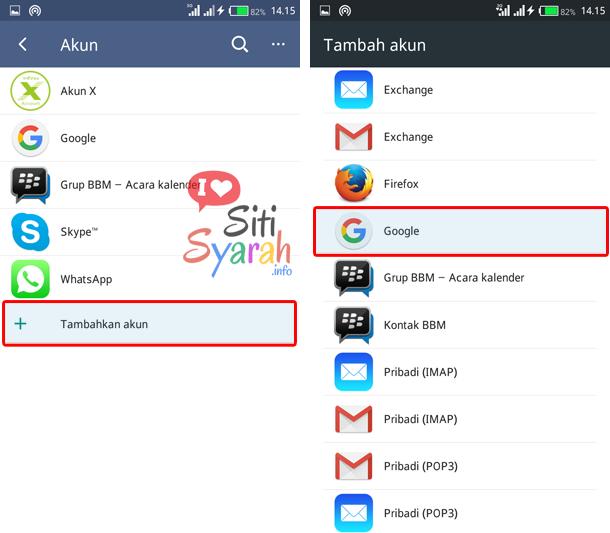 cara login lebih dari satu akun gmail di android