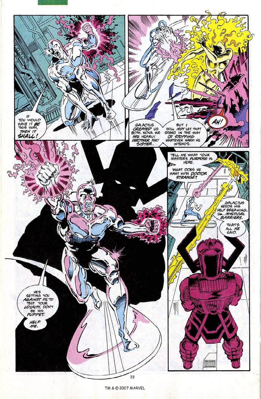 Read online Silver Surfer (1987) comic -  Issue #67 - 24