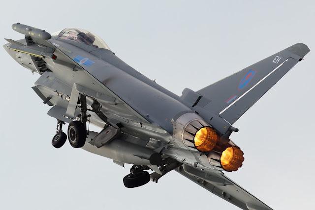 RAF Typhoon Airshow Schedule 2018