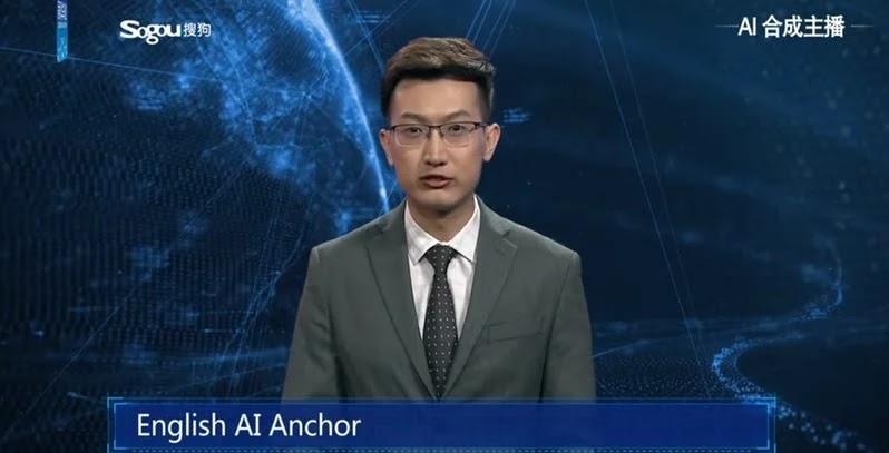 Pembawa Berita deng Teknologi AI