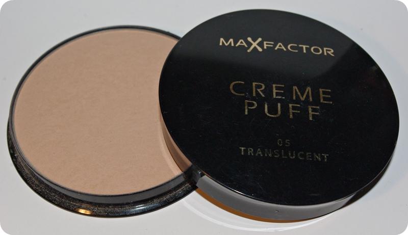 Max Factor Creme Puff 05 Translucent transparentny