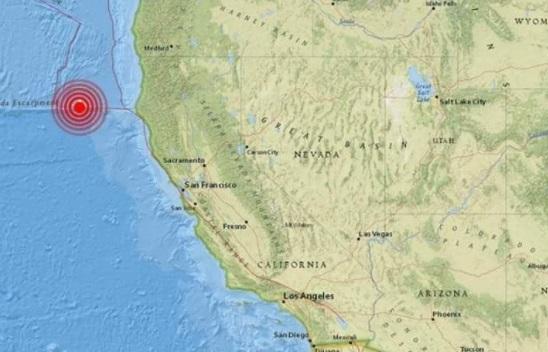 Temblor de magnitud 5.7 estremeció al estado de California