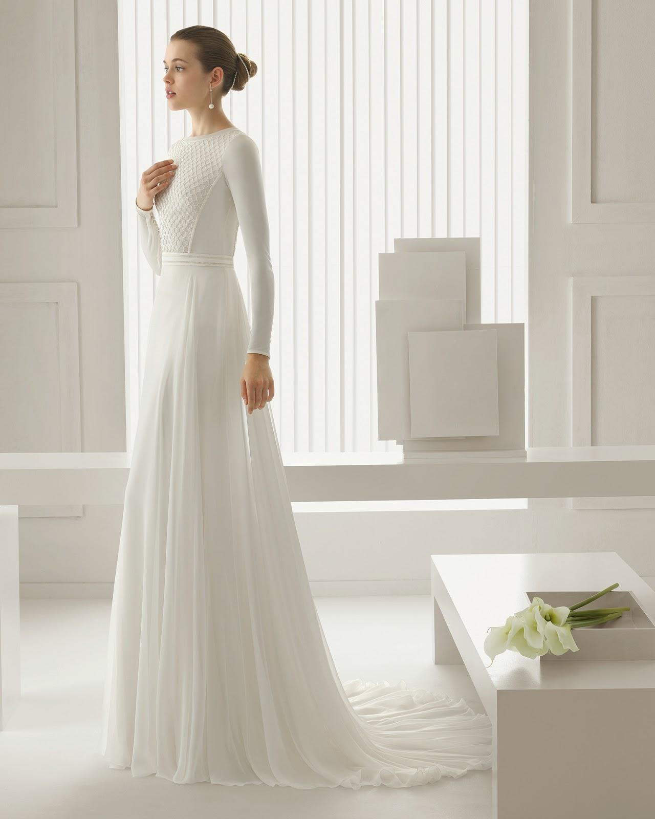 Nuove tendenze in abiti da sposa (stagione -)