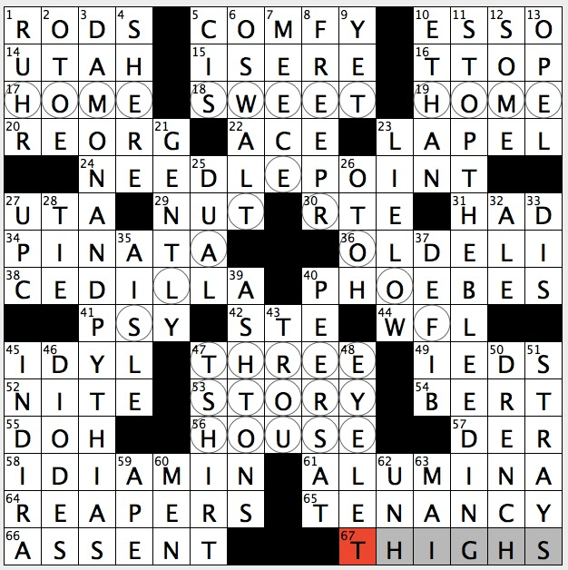 yes to miss piggy crossword clue