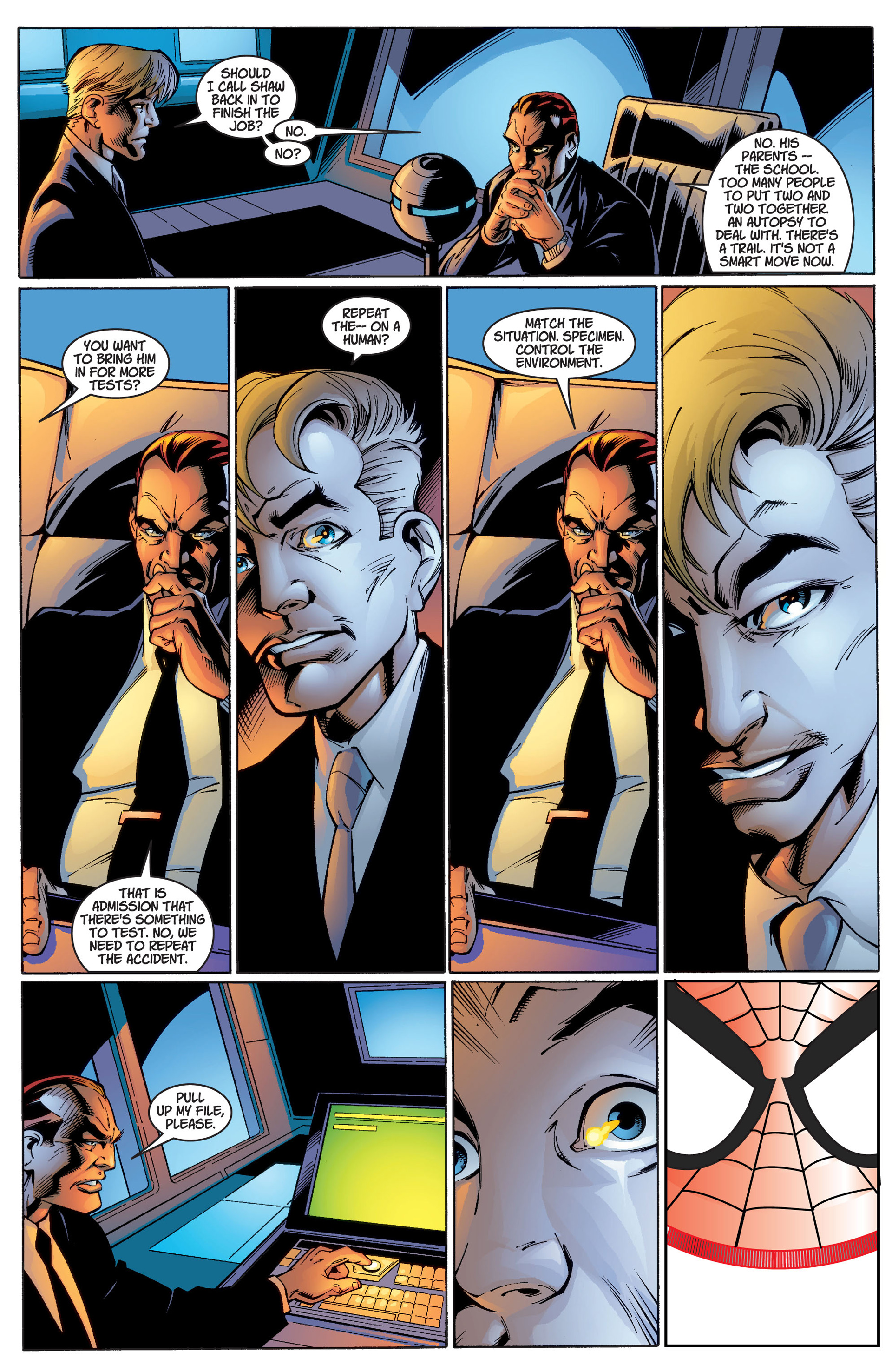 Read online Ultimate Spider-Man (2000) comic -  Issue #2 - 23