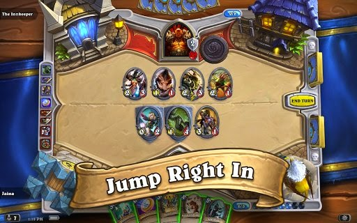 s digital collectible carte du jour game Hearthstone Heroes of Warcraft is straight off available for Androi Hearthstone Heroes of Warcraft 2.0 APK