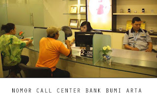 Nomor Call Center Bank Bumi Arta