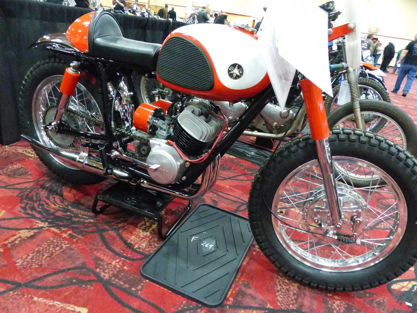 1965 yamaha ascot scrambler sold for 7 750 at the 2016 mecum las vegas motorcycle auction