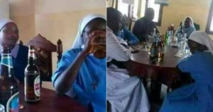 (Photos) Reverend Father And Reverend Sisters Spotted Chilling With Bottles Of Beer