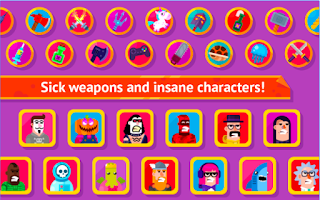 Bowmasters Mod Apk Unlocked all weapon