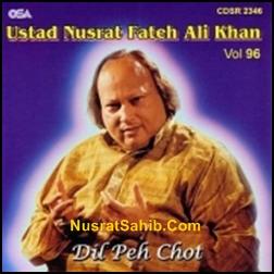 Dil Pe Chot Lagti Hai Un Ke Muskurane Se Lyrics Nusrat Fateh Ali Khan [NusratSahib.Com]