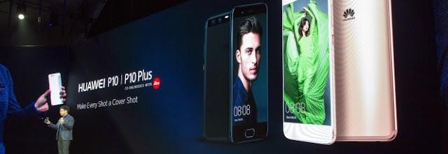 Huawei anuncia P10 e P10 Plus com câmera Leica