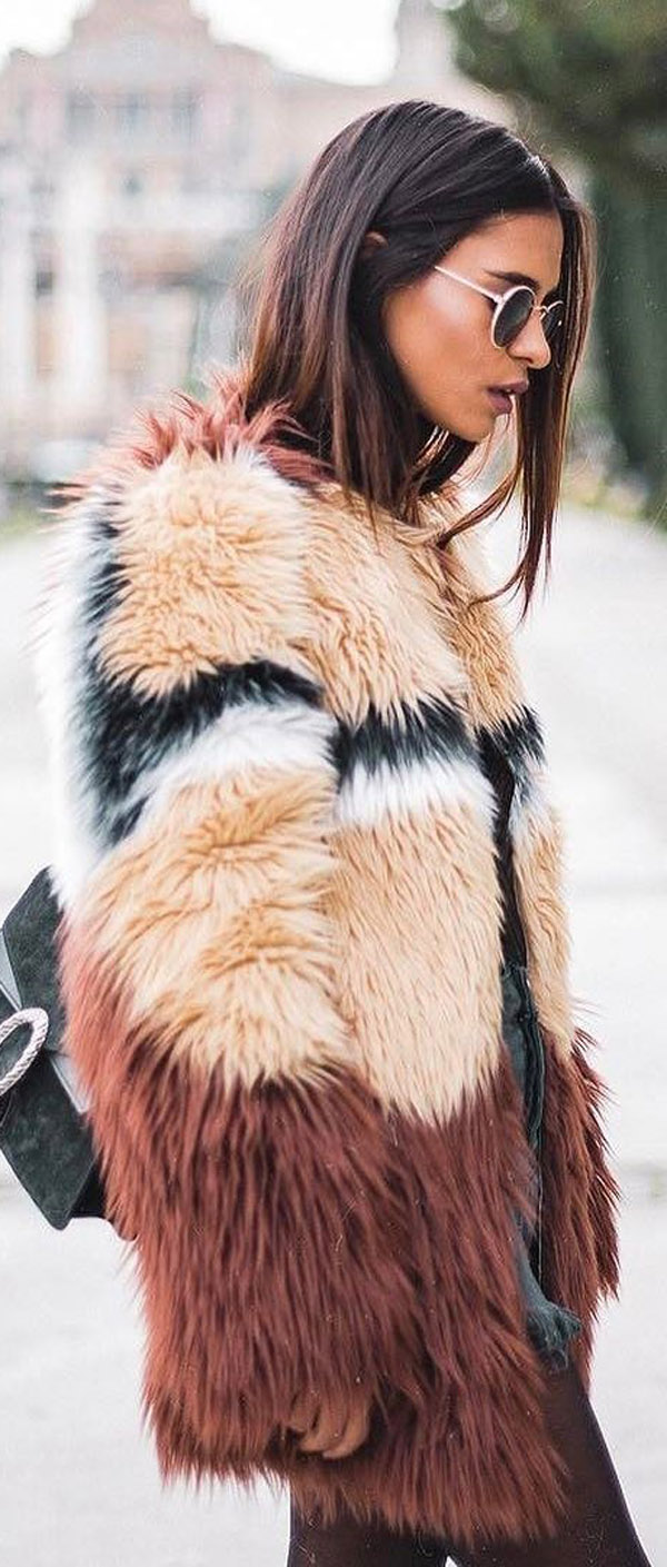 fur jacket trend