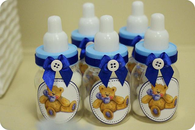 Diário da Gravidez : As Lembrancinhas de Maternidade : Mamadeiras Personalizadas com Amêndoas
