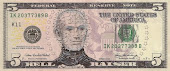 5 Dollar Bill - Hellraiser