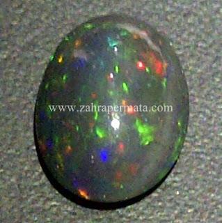 Batu Permata Black Opal Kalimaya - ZP 597