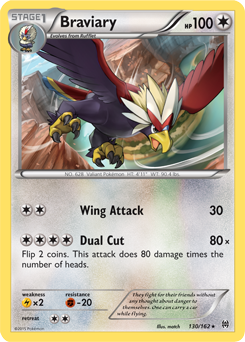 Braviary -- BREAKthrough Pokemon Card Review ...