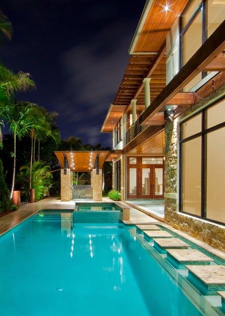 Hogares frescos 18 dise os de peque as pero hermosas piscinas for Diseno piscina