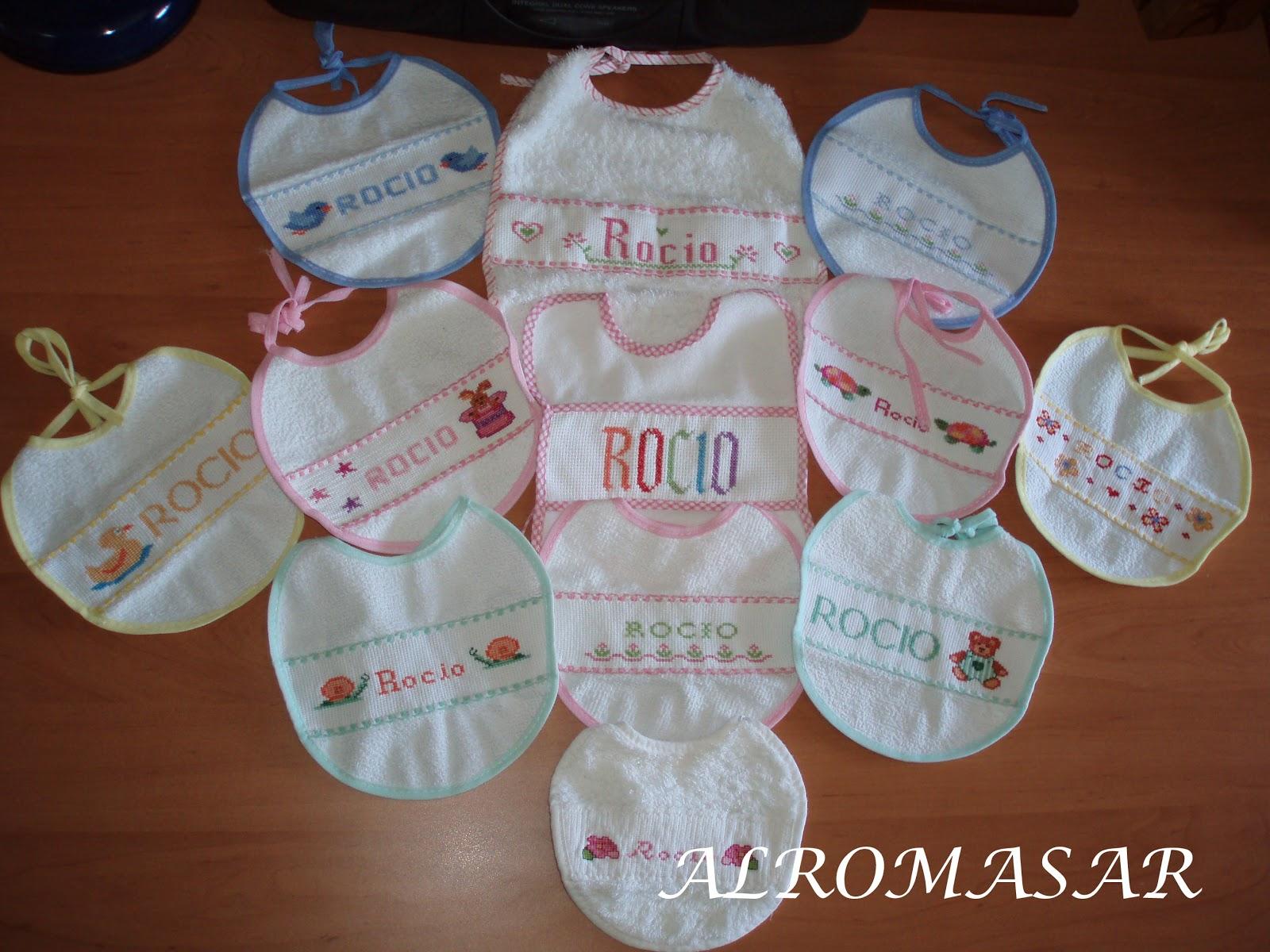 Alromasar baberos y canastillas - Motivos infantiles para decorar ...