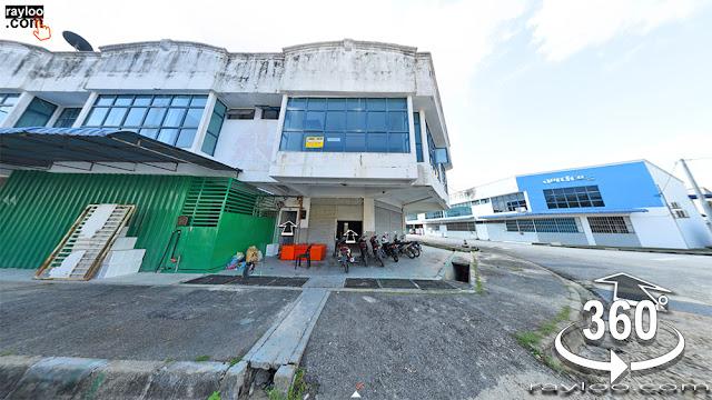 Penang Teluk Kumbar Factory Warehouse Raymond Loo