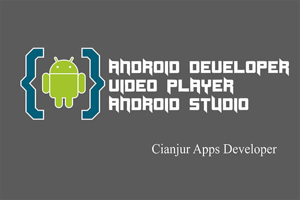 Video Player. Aplikasi Pemutar Video, VideoView di Android Studio