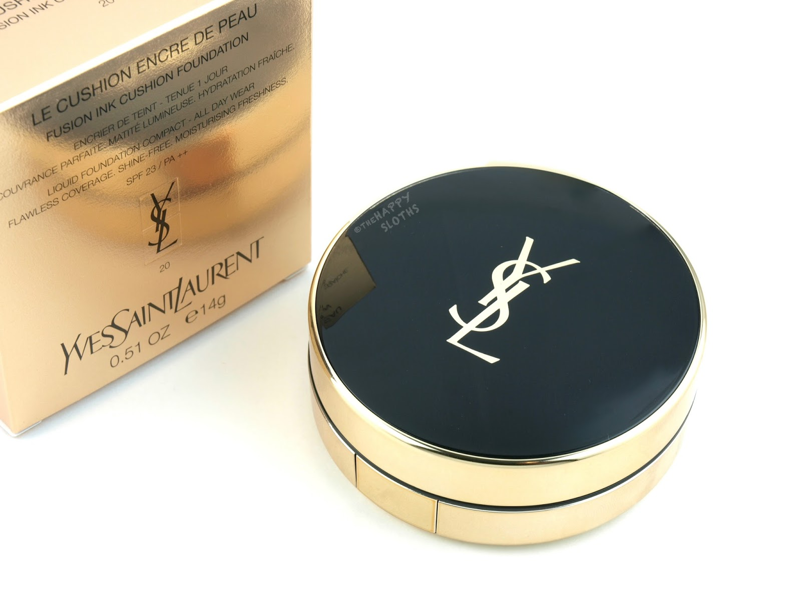 Yves Saint Laurent Fusion Ink Cushion Foundation Shade 20