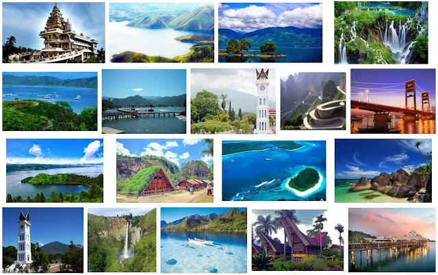 Wisata di Pulau Sumatera
