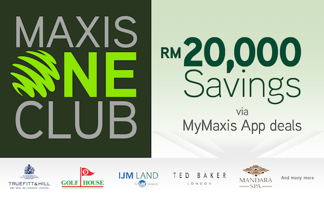 Do check out MyMaxis App too!