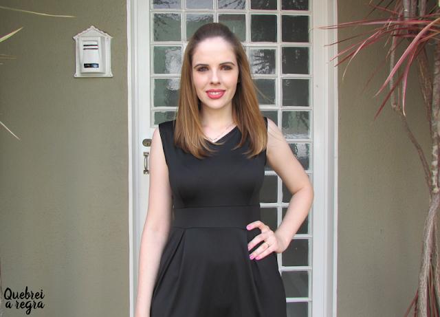 Look do dia: Vestido preto clássico