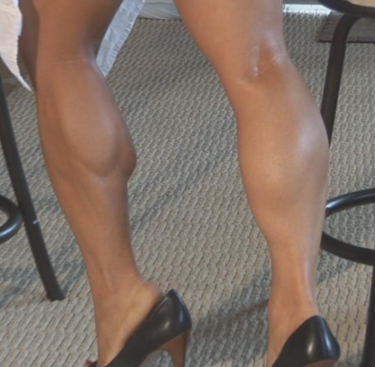 Her Calves Muscle Legs: Various female CALVES types - 2