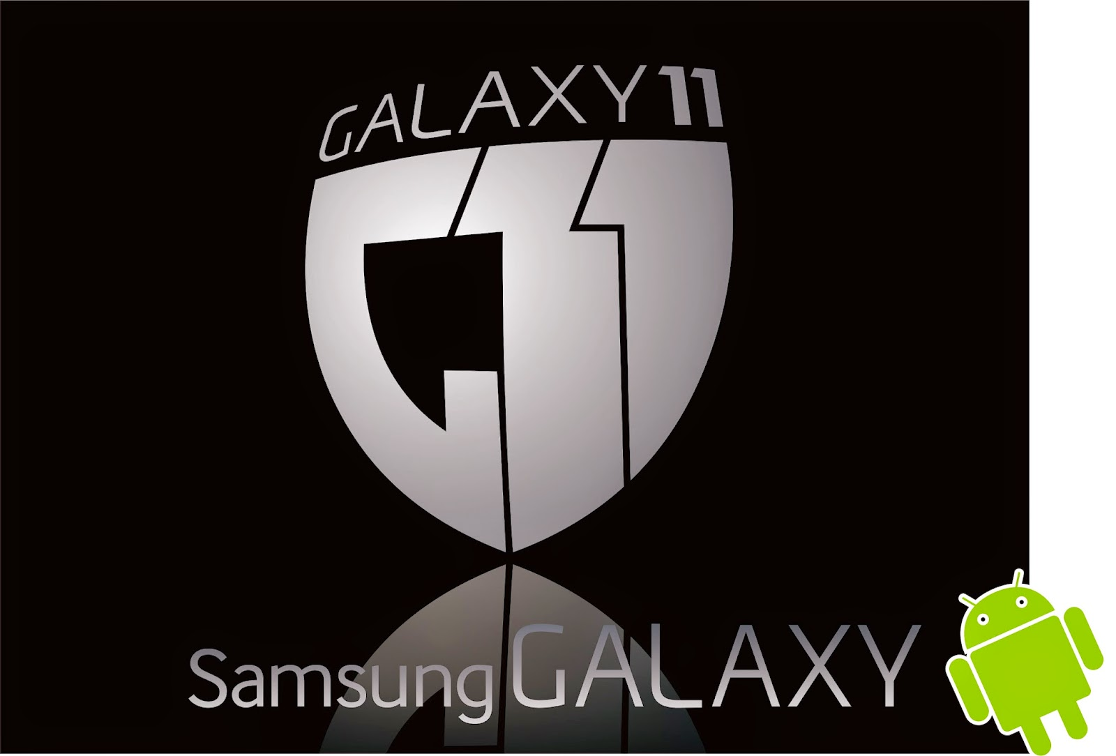 Logo Vektor Samsung Galaxy 11  Samsung Galaxy 11 Logo
