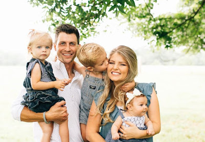 Erin and Chad Paine family