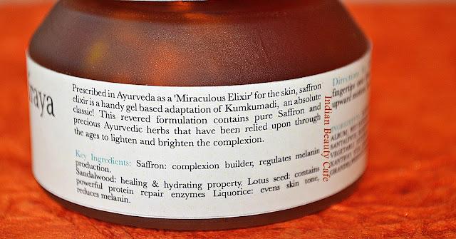 Iraya Saffron Elixir Claims