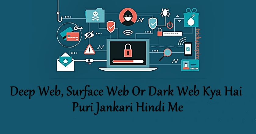 Deep Web, Surface Web Aur Dark Web Kya Hai