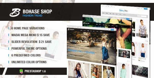 Best Responsive Fashion Store Prestashop Theme