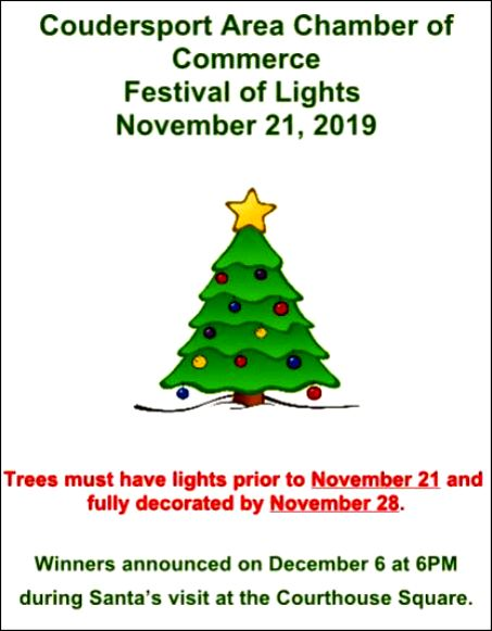 11-21 Deadline to Decorate Trees