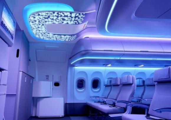 Airbus A321neo cabin interior