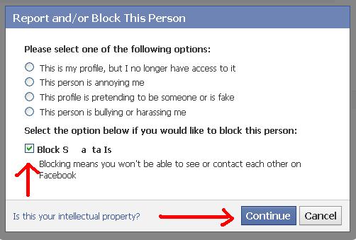 how to know who has blocked you on facebook