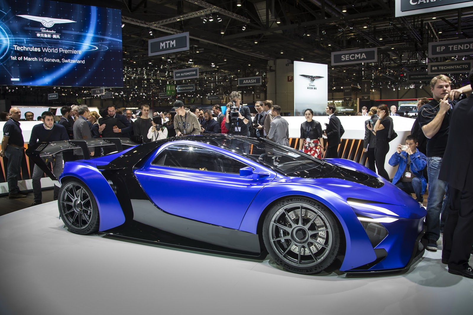 Siêu xe Techrules của Trung Quốc sẽ sản xuất tại Châu Âu