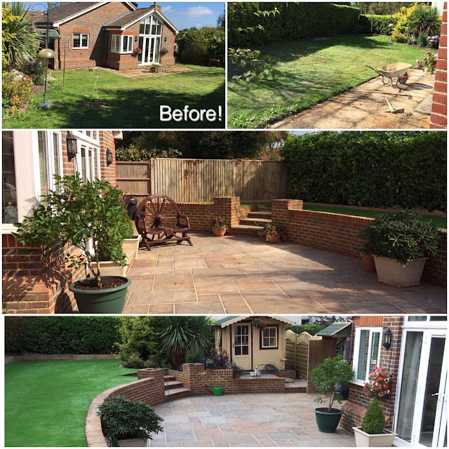 Landscaping in Ashtead Surrey by Ayegardening