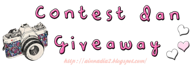 Blog For Giveaway