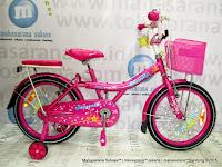 Sepeda Anak Perempuan Family Magenta 18 Inci