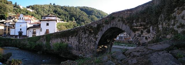 Puente de Piedra en Cangas del Narcea