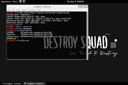 Kali Linux : RapidScan-Web Vulnerbility Scanner