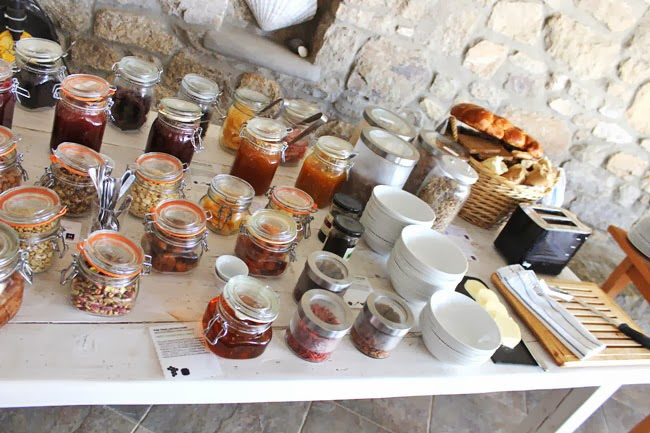 Rocabella Mykonos Hotel healthy breakfast choice, fitness food