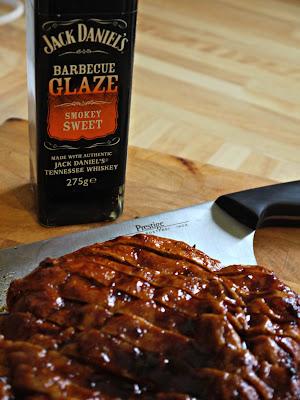 Jack Daniel's Smokey Sweet Seitan Ribs, vegan