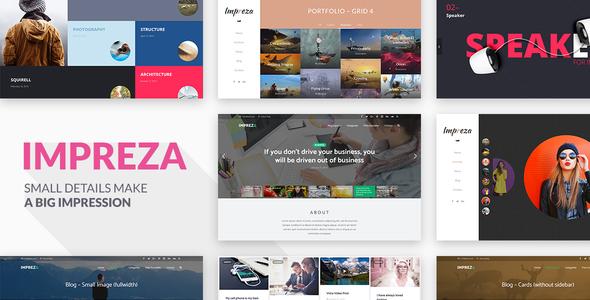 Impreza v2.10 - Retina Responsive WordPress Theme